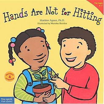 Hands Are Not for Hitting by Martine Agassi - Marieka Heinlen - 97806