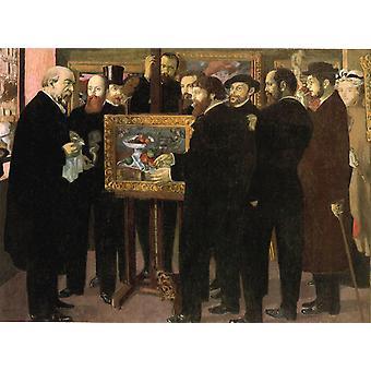 Homage to Cezanne,Maurice Denis,50x37cm
