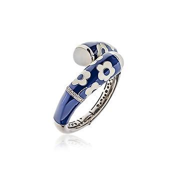 Belle Etoile Blue Fleur Twisted Bracelet 07020810802