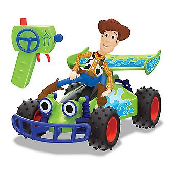 Disney Pixar Toy Story RC Buggy con Woody Remote Control Toy