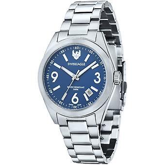 Swiss Eagle SE-9058-33 Heren Horloge