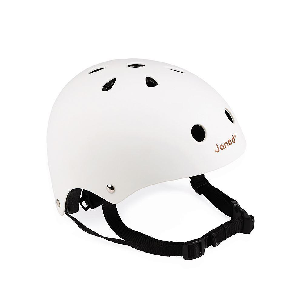 Janod Matte White Helmet 3-6 yrs