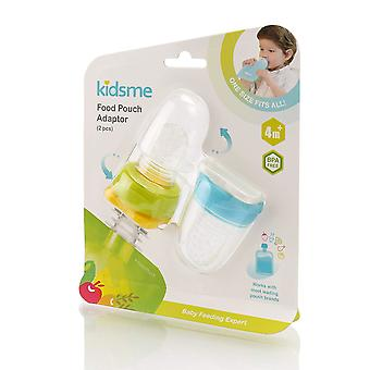 Kidsme Food Pouch Adaptor Twin Pack