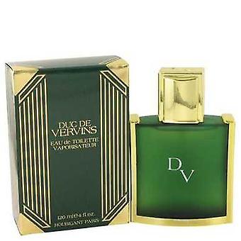 Duc De Vervins By Houbigant Eau De Toilette Spray 4 Oz (men) V728-412438