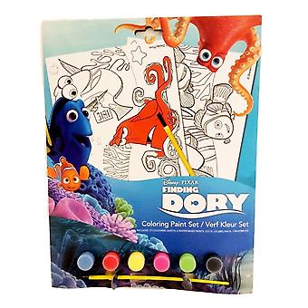 Finding Dory Colouring Paint Set