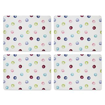 Cooksmart Spotty Dotty Set of 4 Placemats