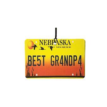 Nebraska - beste opa License Plate auto luchtverfrisser