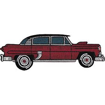 Patch - Automoblies - Maroon Hot Rod Iron On Gifts New Licensed p-3766