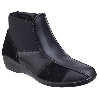 Fleet & Foster Womens Festa Ankle Boot Black