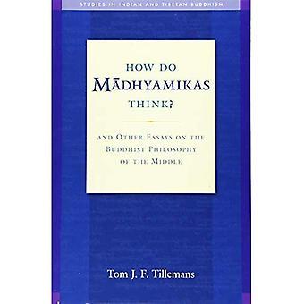 Comment faire Madhyamikas Think?: et autres essais sur la philosophie bouddhiste du milieu (Studies in indien et tibétain...