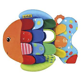 K's Kids Flippo fisk (babyer og børn, legetøj, børnehaveklasse, babyer, blødt legetøj)