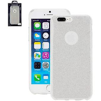 Perlecom Back cover Apple iPhone 7 Plus Silver