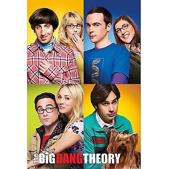 The Big Bang Theory Group Poster