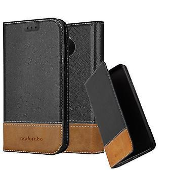 Futerał Cadorabo do obudowy Motorola MOTO G5S - etui na telefon komórkowy z magnetycznym zapięciem, funkcją stojaka i komorą na kartę - Etui ochronne Case Book Folding Style
