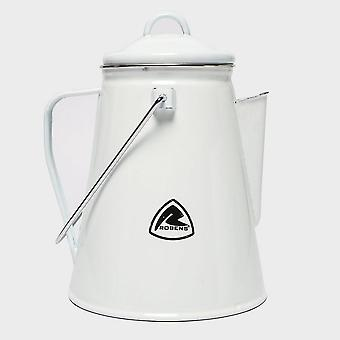 New Robens Tongass Enamel Camping Kettle Camping Cooking Equipment White
