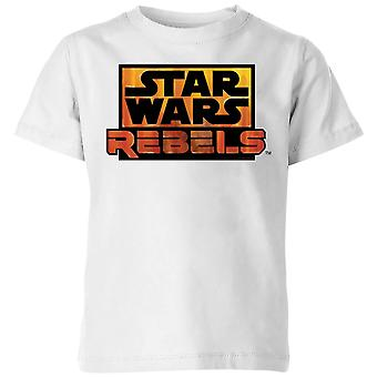 Star Wars Rebels Logo Kids' Camiseta - Blanco