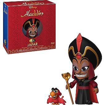 Aladdin Jafar with Iago 5-Star Vinyl Figure