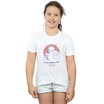 Star Wars The Rise Of Skywalker BB-8 And D-O Distressed Girls T-Shirt