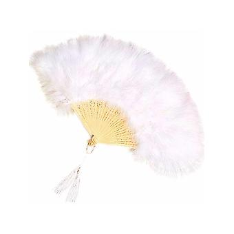 Feathered Fan - White