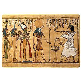 Naklejka Naklejka Starożytny Egipt Starożytny Egipski Papirus Papier Ra Re