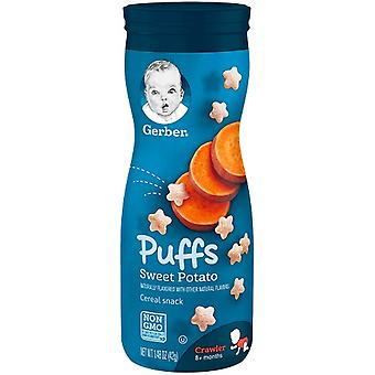 Gerber Puffs dulce cartofi cereale gustare