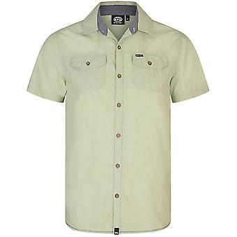 Animal Endoe Short Sleeve Camicia in Light Sage
