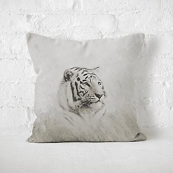 Meesoz Coussin - White Tiger