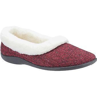 Fleet & Foster Womens Hilda Soft Terry Warm Knitted Slippers