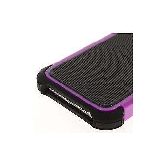 Black Plastic Shell And Ultra Resistant Violet For IPhone 5