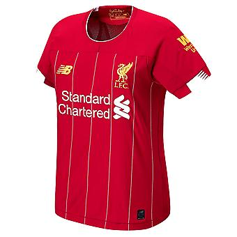 New Balance Liverpool 2019/20 Womens Ladies Home Football Shirt Red