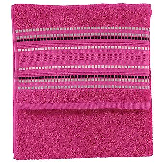 Linens and Lace Unisex Border Stitch Towel