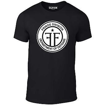 T-shirt della divisione frangia Uomo&apos