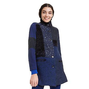 Desigual Women's Cartter Patchwork Smart Winter Coat