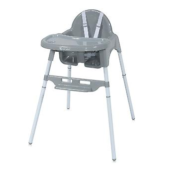 Lorelli children's high chair Amaro double dining table, cup recess, foot rack, strap
