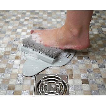 Aidapt voeten borstel - voor onder de douche