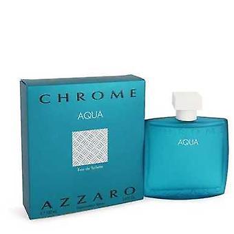 Chrome Aqua By Azzaro Eau De Toilette Spray 3.4 Oz (men) V728-546134