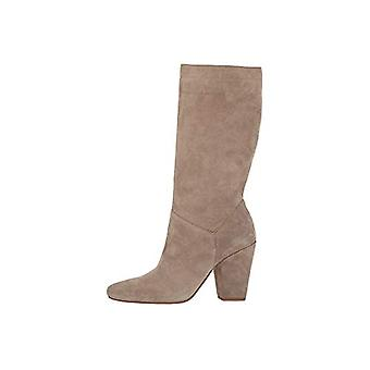 1.STATE Womens Maribell Leather Almond Toe Mid-Calf Fashion Boots