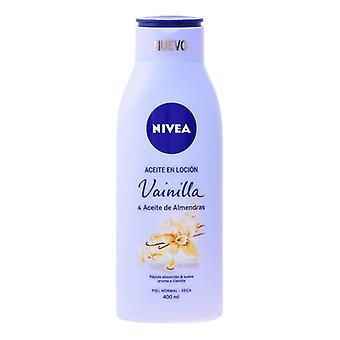 Loção de amêndoa e óleo de baunilha Nivea (400 ml)