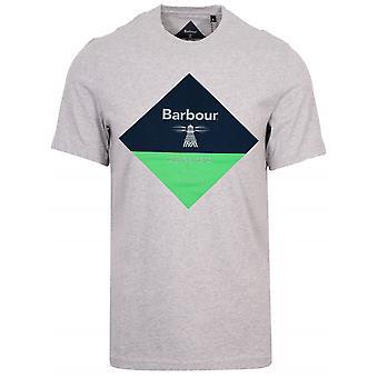 Barbour Beacon Barbour Beacon Grey Diamond T-Shirt