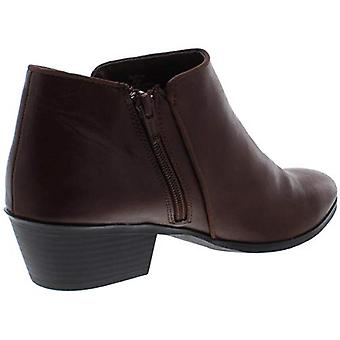 Style et Co. Femmes Wileyyp Faux Cuir Booties Brown 9.5 Medium (B,M)