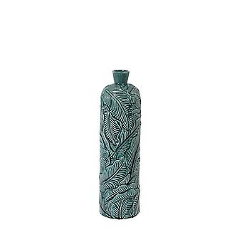Lys & Levende Vase Deco 16.5x59cm Lavero Keramikk Mørk Grønn