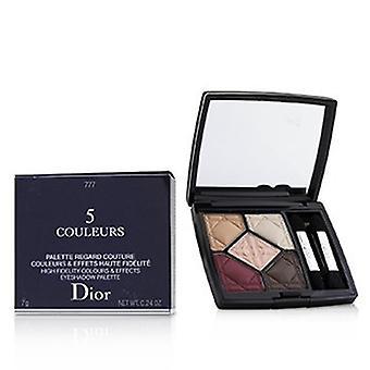 Christian Dior 5 Couleurs High Fidelity Farben & Effekte Lidschatten-Palette - 777 Exalt Matt 7g/0,24 Oz