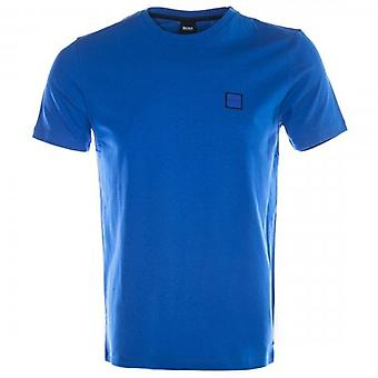 Boss Orange Tales Plain T-Shirt Blue 435 50389384