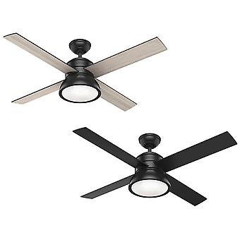 Ceiling fan Loki Black with light and remote