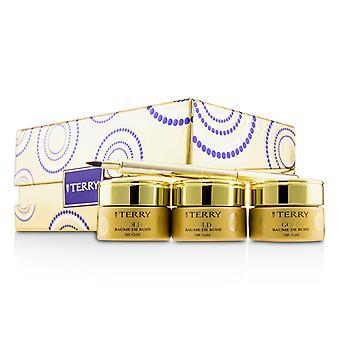 24 K gold baume de rose trio deluxe lip balm jewels (1x white gold 10g, 1x gold 10g, 1x rose gold 10g) 228222 3x10g/0.35oz