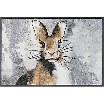 wash+dry Fußmatte Hopps 40 x 60 cm waschbare kleine Fußmatte