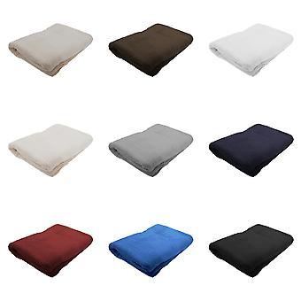 Jassz Premium Heavyweight Plain Big Towel / Bath Sheet (Pack of 2)