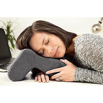 Pewter Nora Nap Em qualquer lugar almofada almofada almofada mesa dormindo apoio pescoço viagem