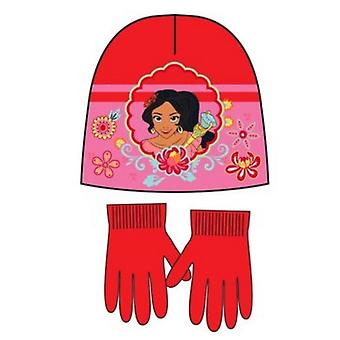 Disney elena avalor ragazze cappello e guanti set