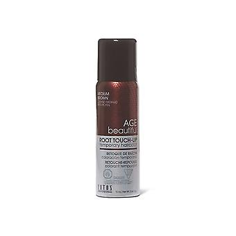 AGEbeautiful Root Touch Up Spray - Brown moyen